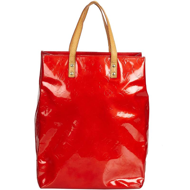 ec786d5715dc Buy Louis Vuitton Vernis Reade MM Tote Bag 165985 at best price