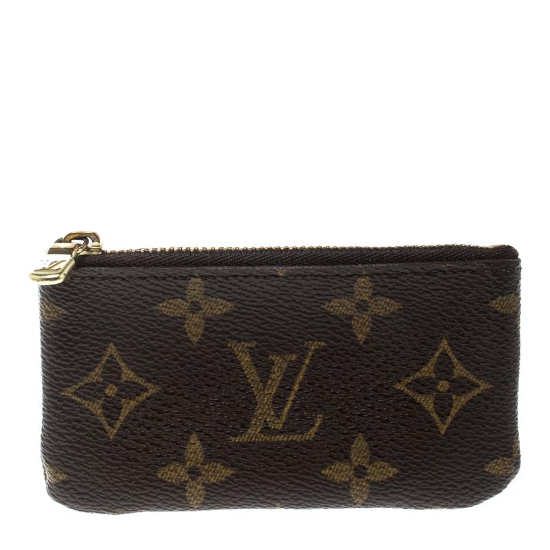 dc0257377924 Buy Louis Vuitton Monogram Canvas Key Pouch 169249 at best price