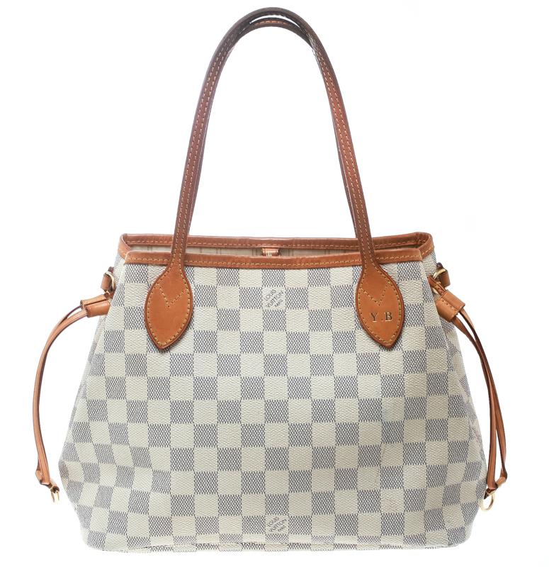 1ebeb71bd3c ... Louis Vuitton Damier Azur Canvas Neverfull PM Bag. nextprev. prevnext