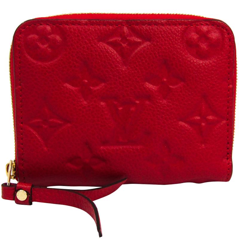 1bb7e740f ... Louis Vuitton Cherry Monogram Empreinte Leather Zippy Coin Purse.  nextprev. prevnext