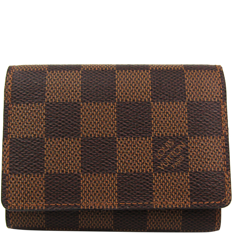 45dbd84b4d7 ... Louis Vuitton Damier Ebene Canvas Business Card Holder. nextprev.  prevnext