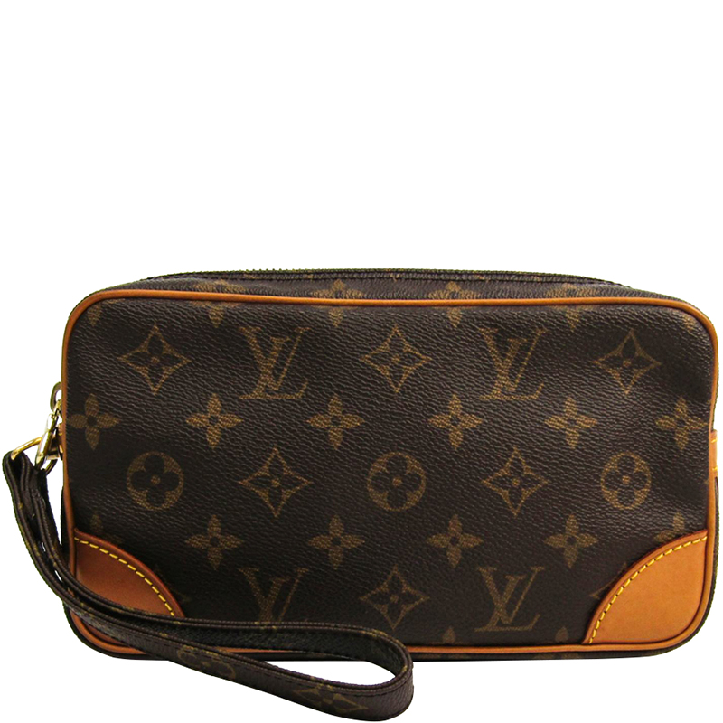 f3a95a814 ... Louis Vuitton Monogram Canvas Marly Dragonne PM Clutch Bag. nextprev.  prevnext
