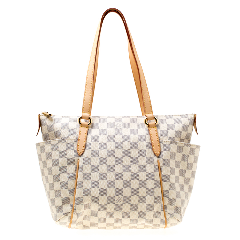 9552b099ab0 ... Louis Vuitton Damier Azur Canvas and Leather Totally PM Bag. nextprev.  prevnext