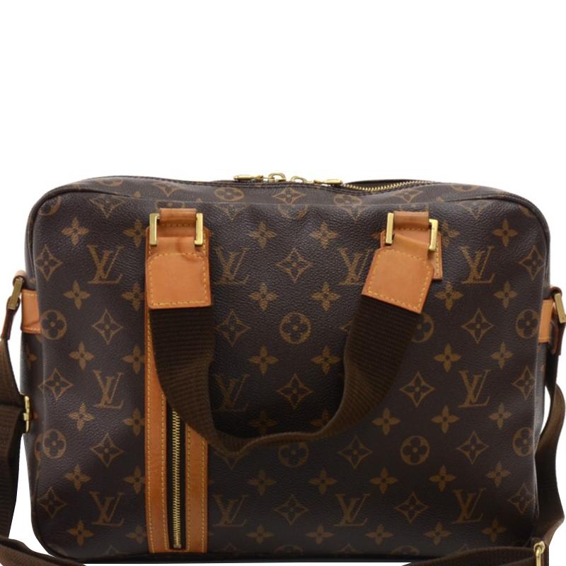 Louis Vuitton Monogram Canvas Sac Bosp Messenger Bag