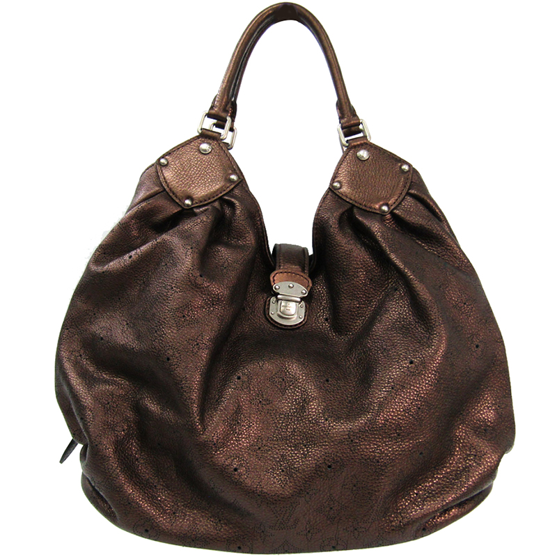 d9c005113ea1 ... Louis Vuitton Metallic Mordore Monogram Mahina Leather XL Bag.  nextprev. prevnext