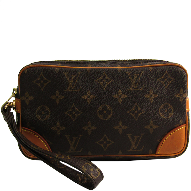 ff0aa4eeac52 ... Louis Vuitton Monogram Canvas Marly Dragonne PM Clutch Bag. nextprev.  prevnext