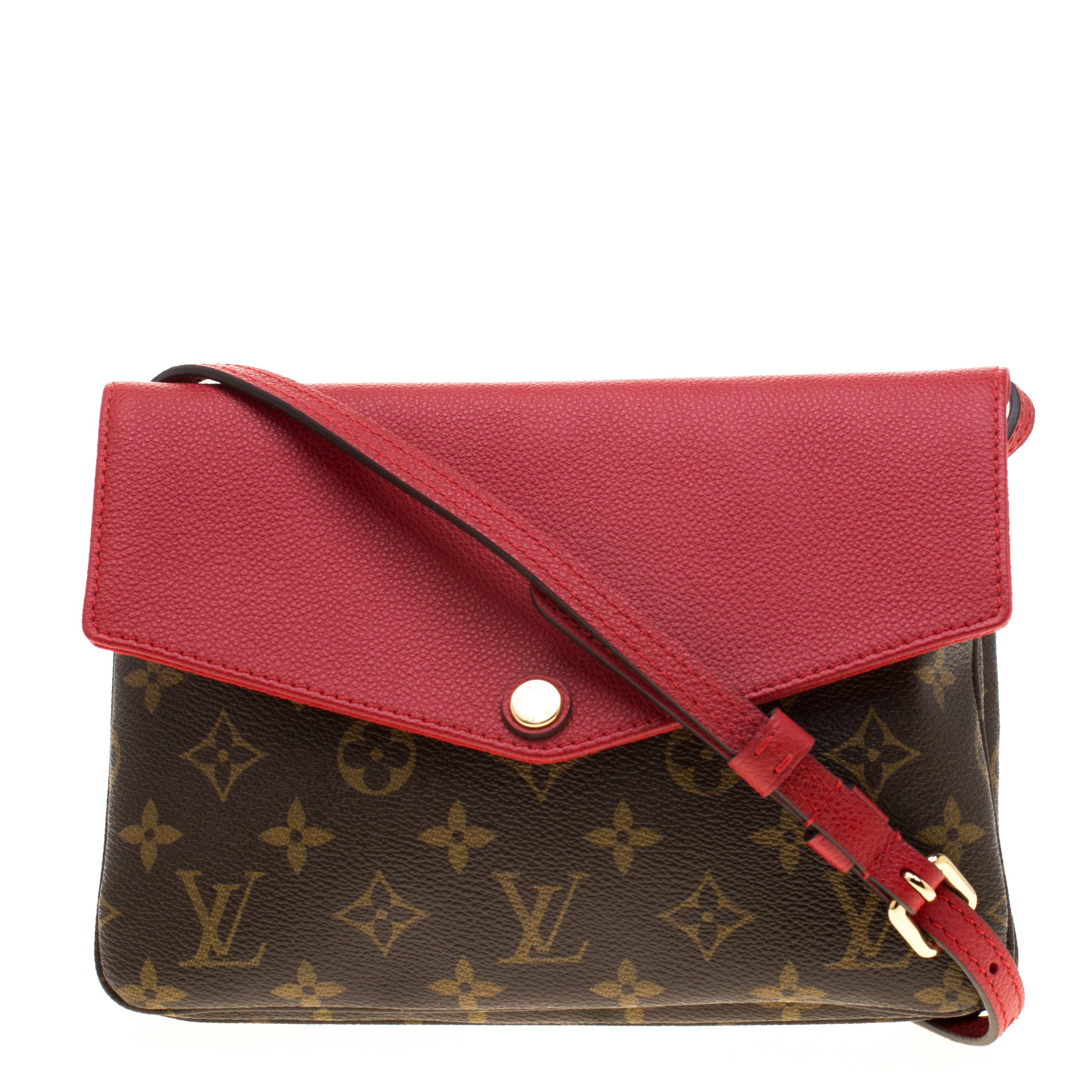 a4daeb005 ... Louis Vuitton Cherry Monogram Canvas and Leather Twice Bag. nextprev.  prevnext