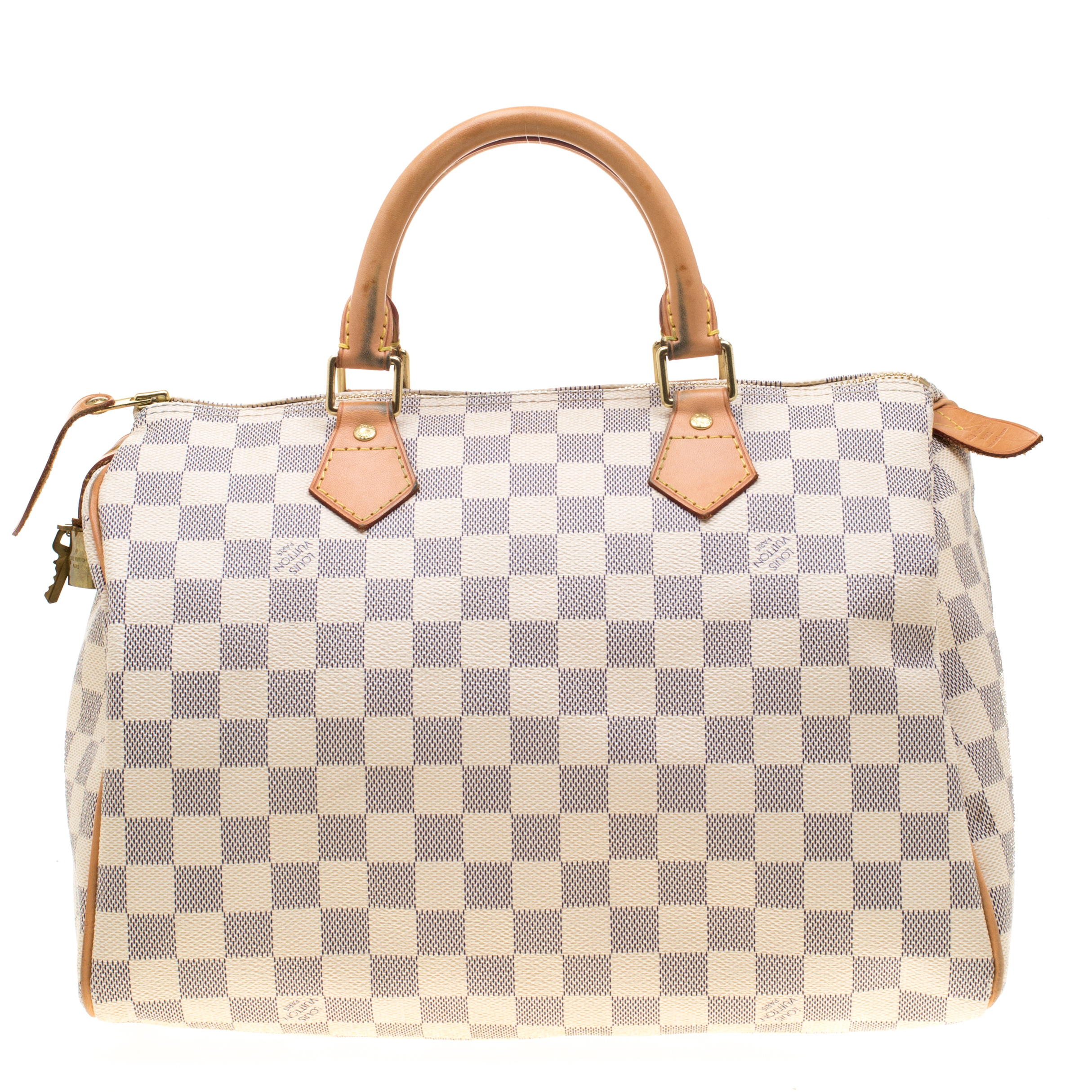 8a9e3227232f ... Louis Vuitton Damier Azur Canvas Speedy 30 Bag. nextprev. prevnext