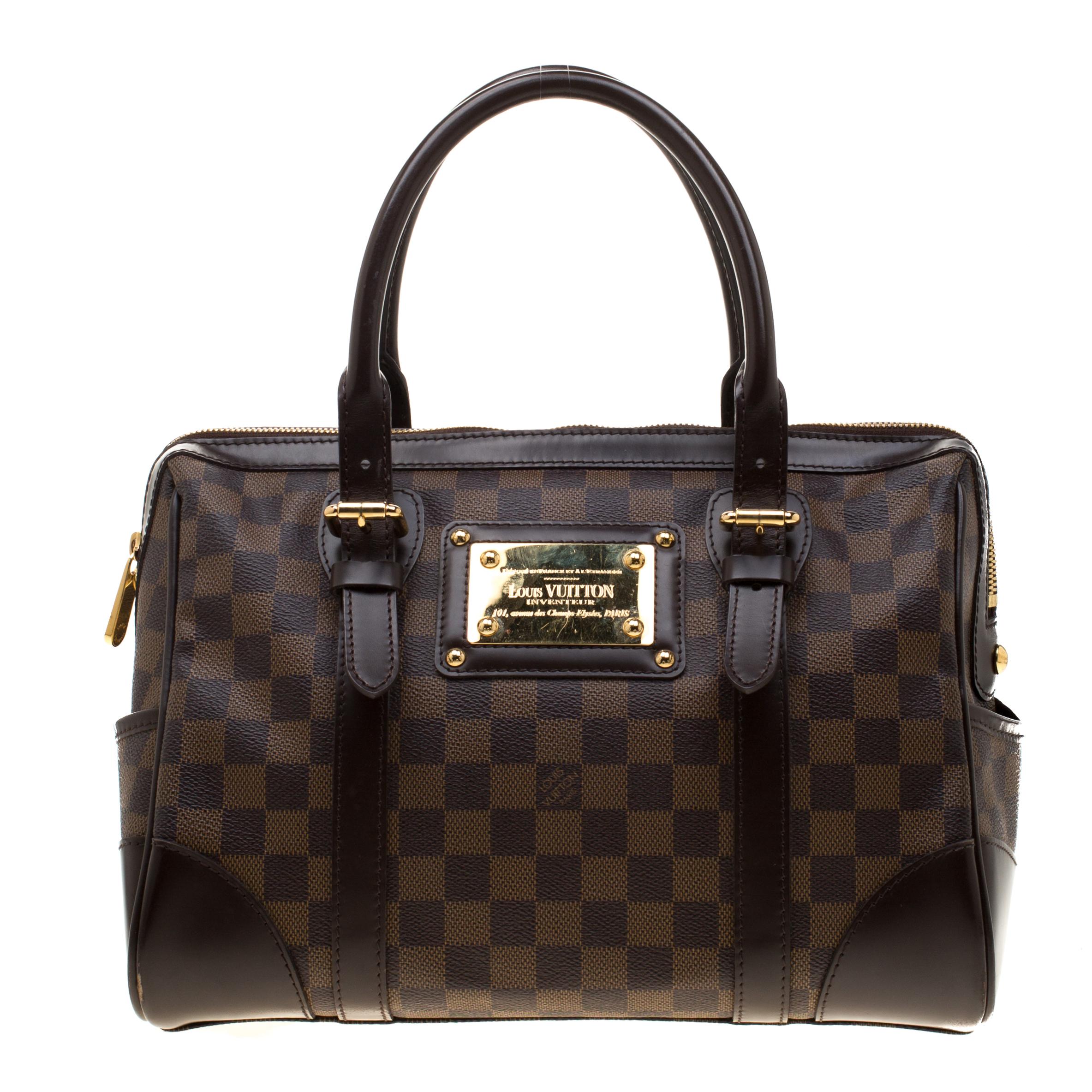 2427bd7228e9 ... Louis Vuitton Damier Ebene Canvas Berkeley Bag. nextprev. prevnext