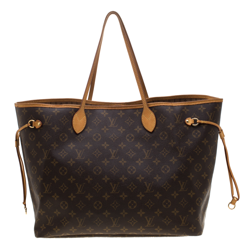 f98ac9be6ee5 Louis Vuitton Monogram Canvas Neverfull GM Bag. nextprev. prevnext