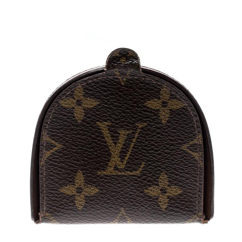 f8528b0d113 Louis Vuitton Monogram Canvas Porte Monnaie Gousset Coin Purse