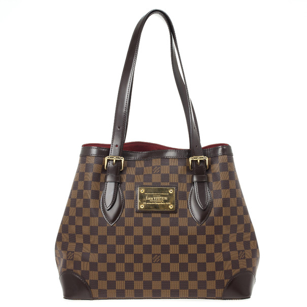 5f370ff02700 Buy Louis Vuitton Tote Damier Ebene Hampstead MM 20824 at best price ...