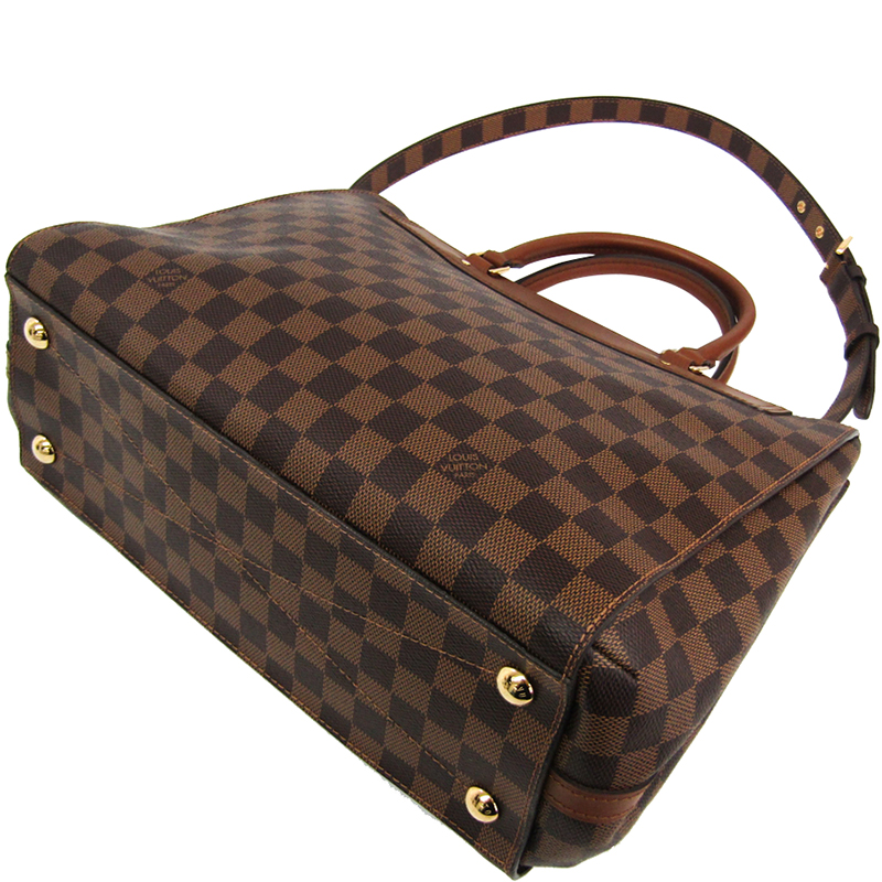 Louis Vuitton Damier Ebene Canvas Greenwich Bag, Brown  - buy with discount