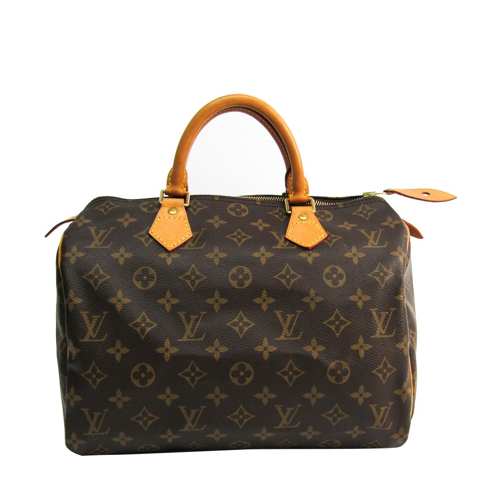 Louis Vuitton Monogram Canvas Speedy 30 City Handbag