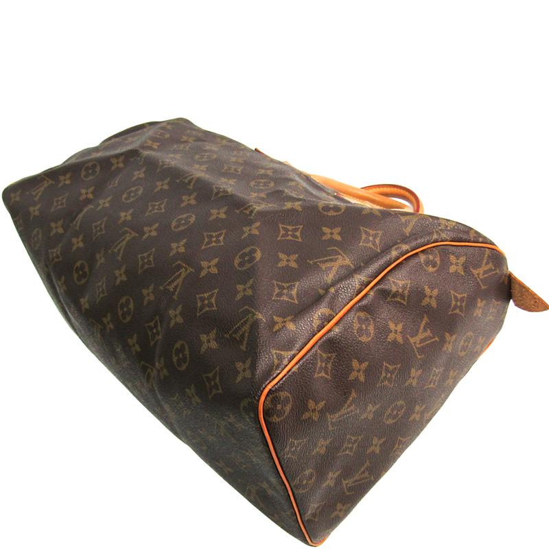 Louis Vuitton Monogram Canvas Speedy 40 Bag, Brown