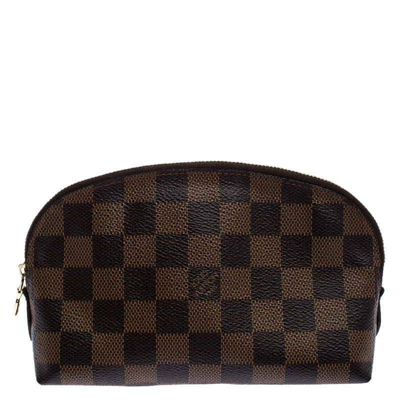 Louis Vuitton Damier Ebene Canvas Cosmetic Pouch