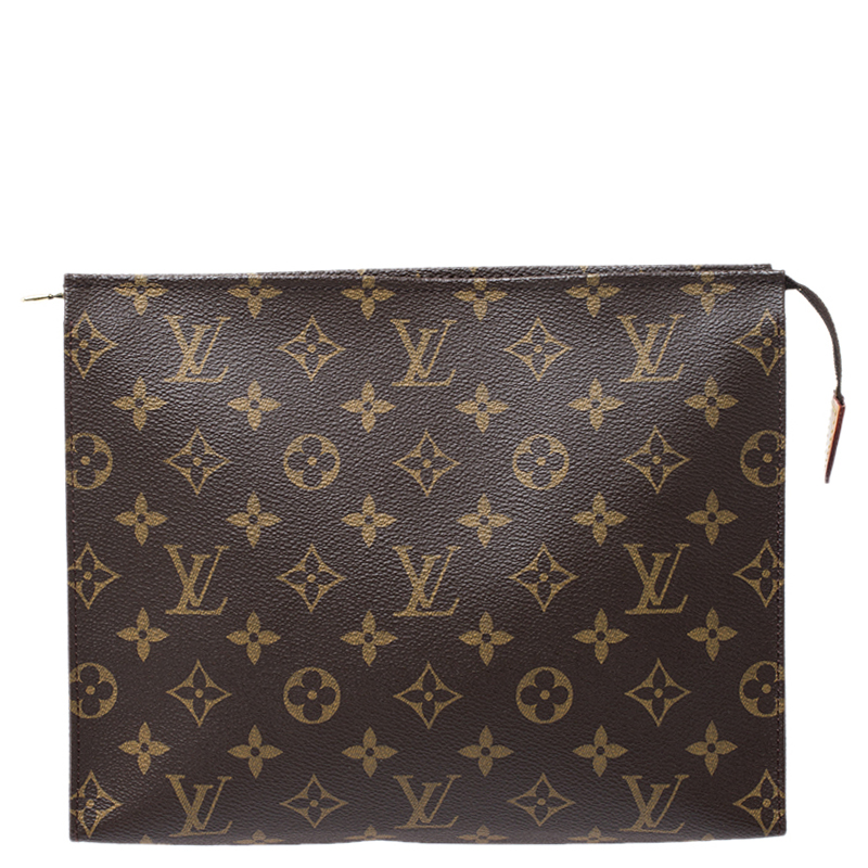 Louis Vuitton Monogram Canvas Toiletry Pouch 25 Louis Vuitton Tlc Softly rounded, it easily slips into a travel bag. the luxury closet