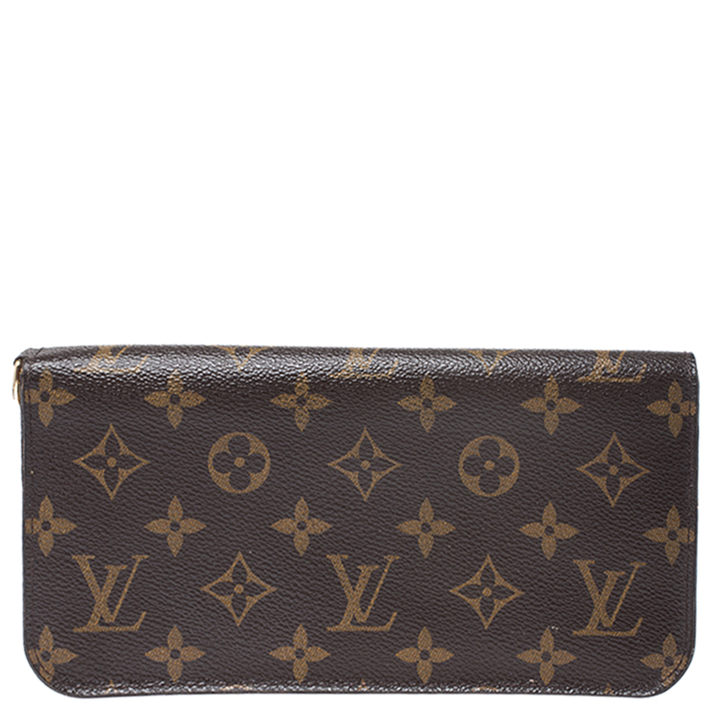 Louis Vuitton Brown Monogram Multicolore Insolite Wallet