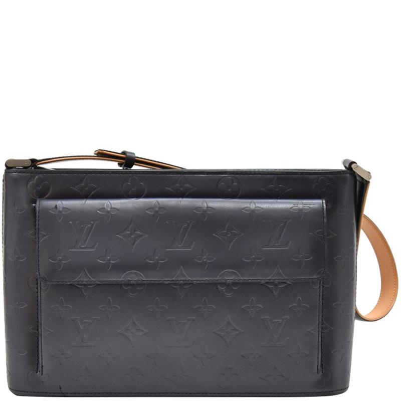 Louis Vuitton Navy Monogram Mat Allston Bag Louis Vuitton Tlc