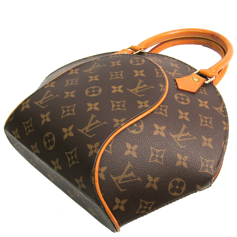 Louis Vuitton Monogram Canvas Ellipse PM Bag, Brown