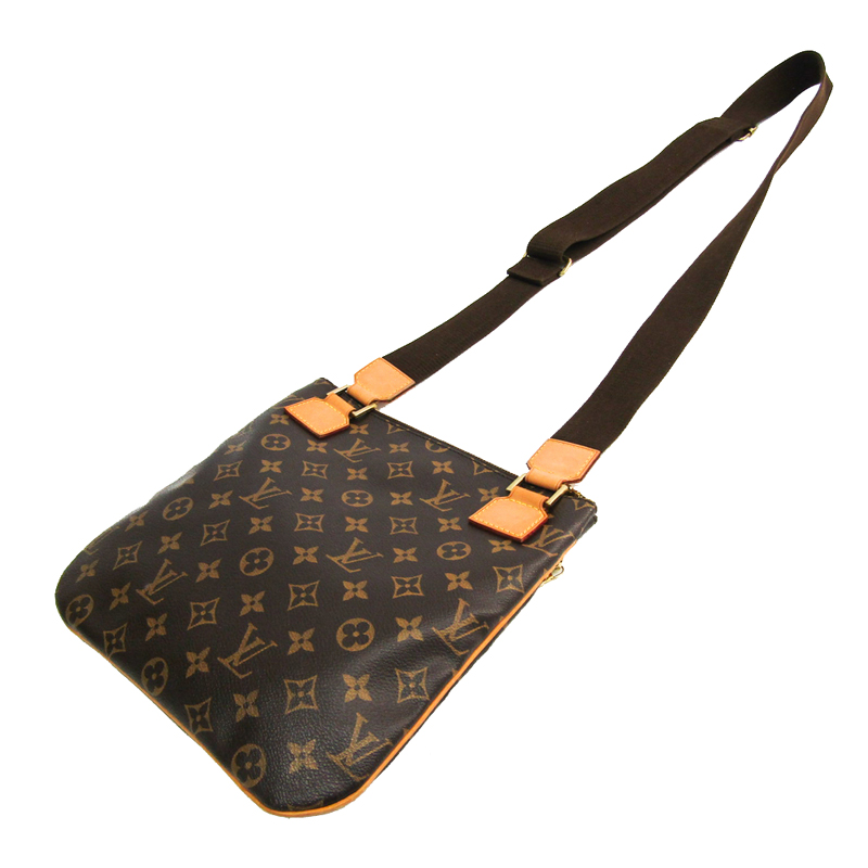 Louis Vuitton Monogram Canvas Pochette Bossfall Shoulder Bag, Brown