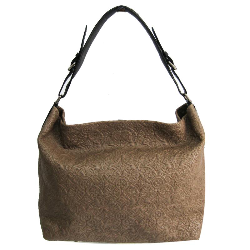 Louis Vuitton Light Brown Antheia Hobo GM