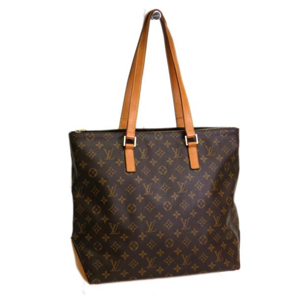 a514f5fa12fe Buy Louis Vuitton Monogram Cabas Mezzo Tote 27443 at best price