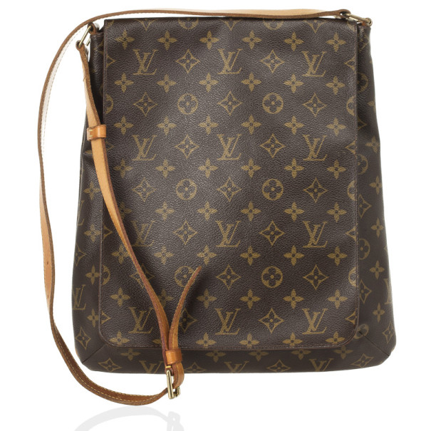 25cb7a24e03e5 ... Louis Vuitton Monogram Canvas Musette Salsa GM Shoulder Bag. nextprev.  prevnext