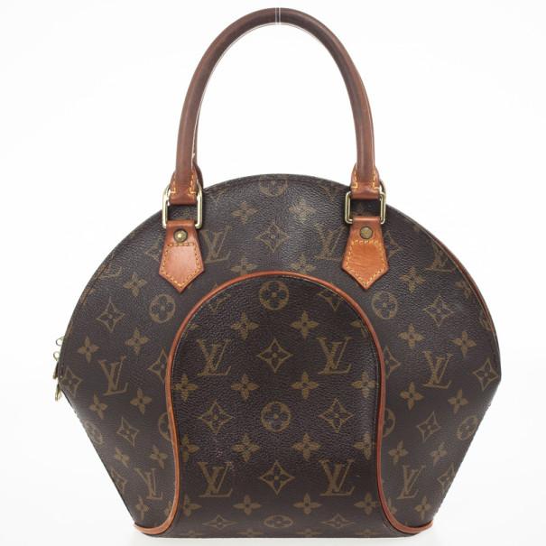 73ef6e18371cc Buy Louis Vuitton Vintage Monogram Canvas Ellipse PM Handbag 29523 ...