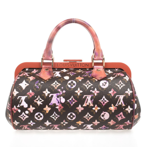 89c94cbe0d ... Louis Vuitton Limited Edition Richard Prince Monogram Watercolor  Aquarelle Papillon Frame Bag. nextprev. prevnext
