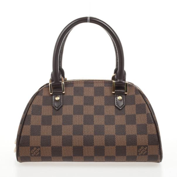 e33318cc05d8 ... Louis Vuitton Damier Ebene Ribera PM Satchel Handbag. nextprev. prevnext