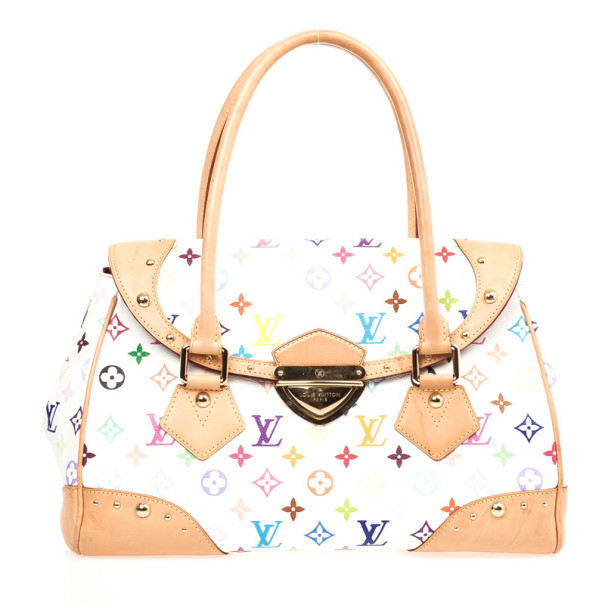 7633a8ae320b Buy Louis Vuitton White Multicolor Beverly GM 31487 at best price