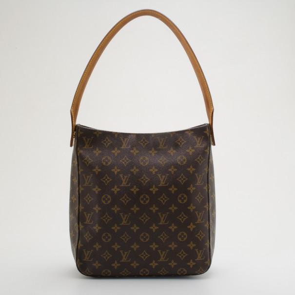 1dc23bc8edf ... Louis Vuitton Monogram Looping GM Large Shoulder Bag. nextprev. prevnext