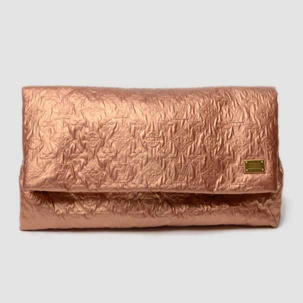 Louis Vuitton Salmon Limelight GM Clutch