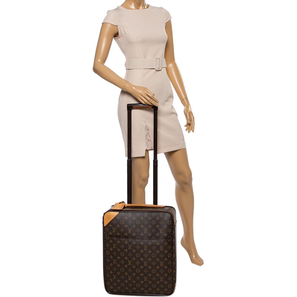 Louis Vuitton Monogram Canvas Pegase 45 Suitcase