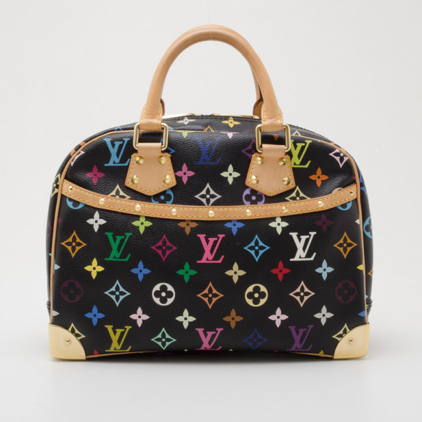 Buy Louis Vuitton Black Multicolor Trouville 35969 at best price  ccb02f3b81adf