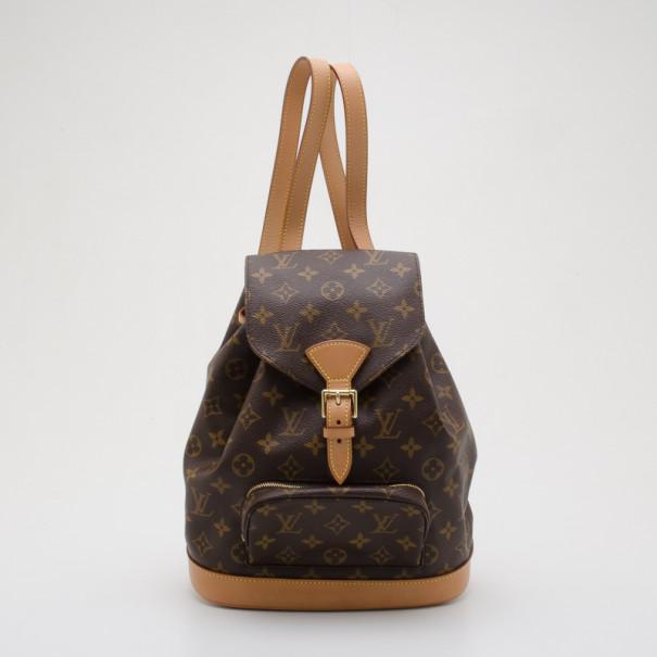 089359653517 Buy Louis Vuitton Monogram Canvas Montsouris PM Backpack 36576 at best price