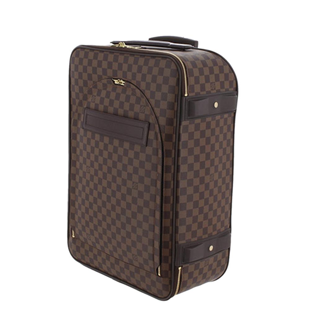 Louis Vuitton Damier Canvas Ebene Pégase 55 Suitcase