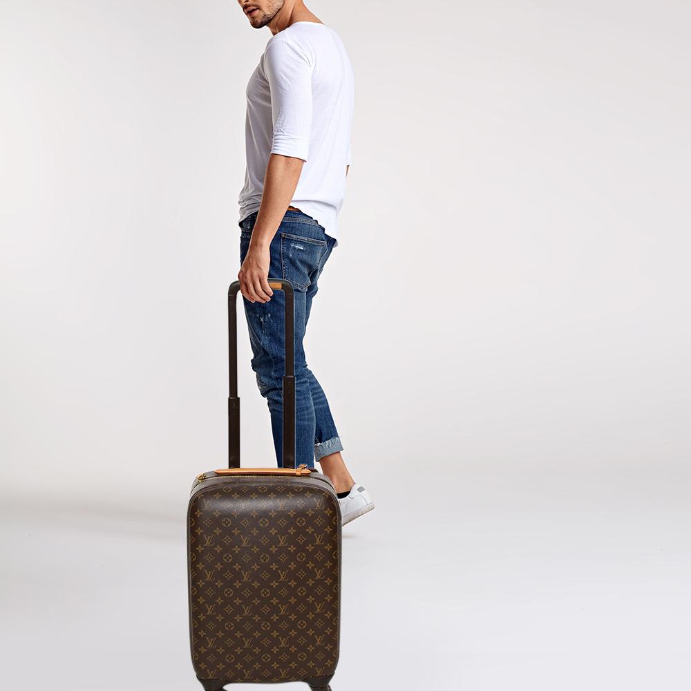 Louis Vuitton Monogram Canvas Zephyr 55 Rolling Suitcase