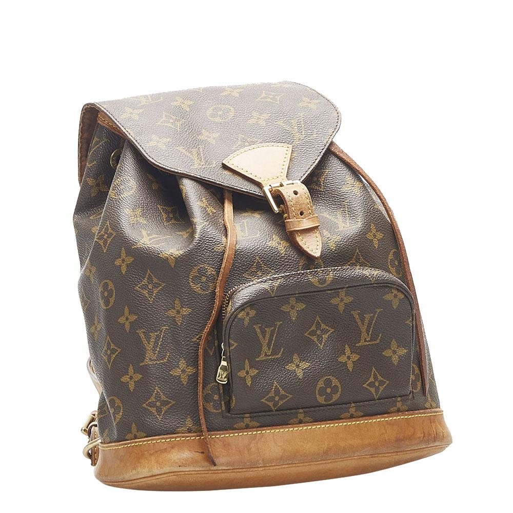 Louis Vuitton Monogram Canvas Mini Montsouris Backpack Bag