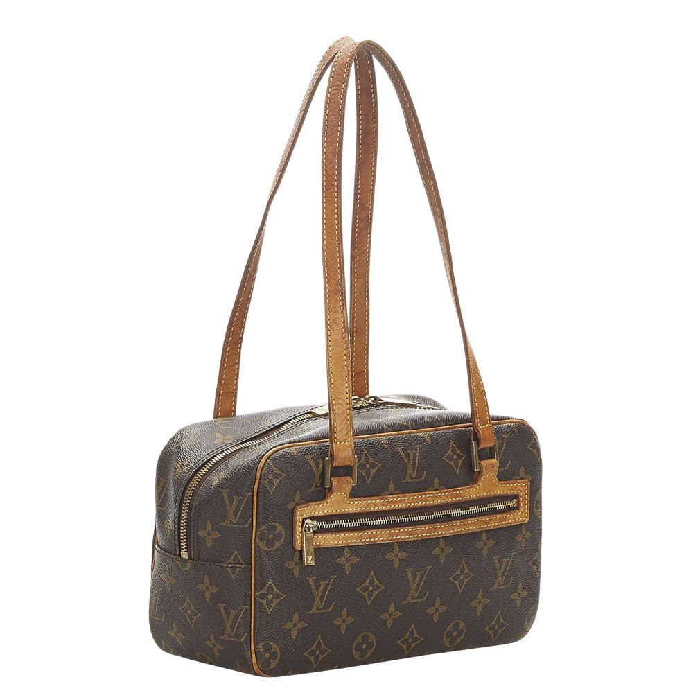 Louis Vuitton Monogram Canvas Cite MM Bag