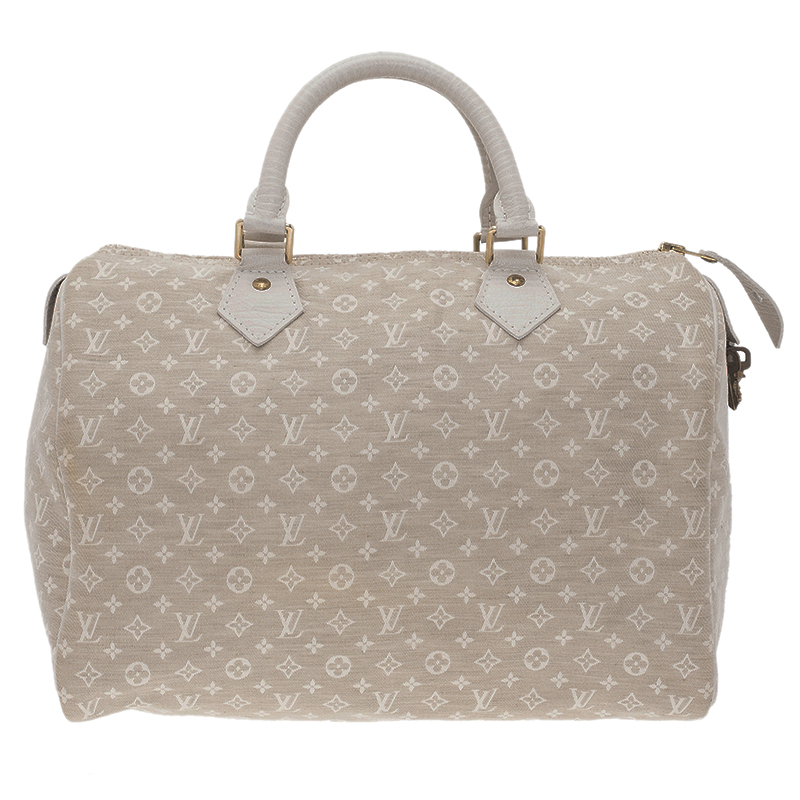 474b281f6756 ... Louis Vuitton Cream Monogram Mini Lin Speedy 30 Bag. nextprev. prevnext