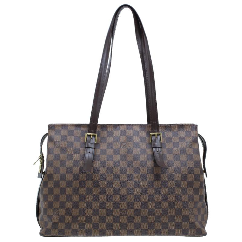 8d3e1cdcc6a7 ... Louis Vuitton Damier Ebene Canvas Chelsea Tote Bag. nextprev. prevnext