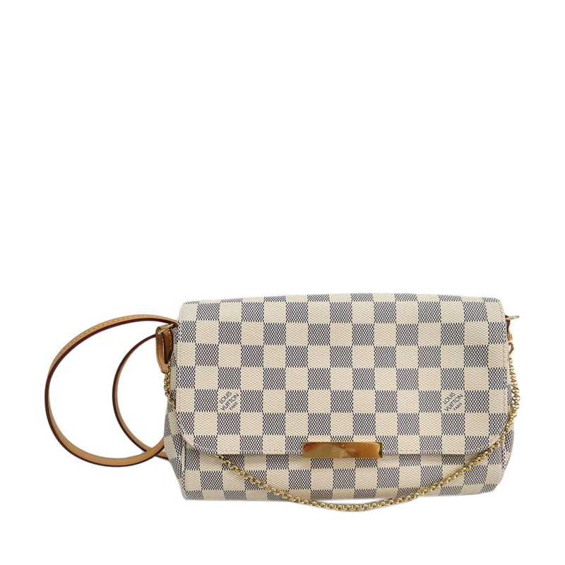 Buy Louis Vuitton Damier Azur Canvas Favorite MM 44203 at best price ... 83622a2f0d9
