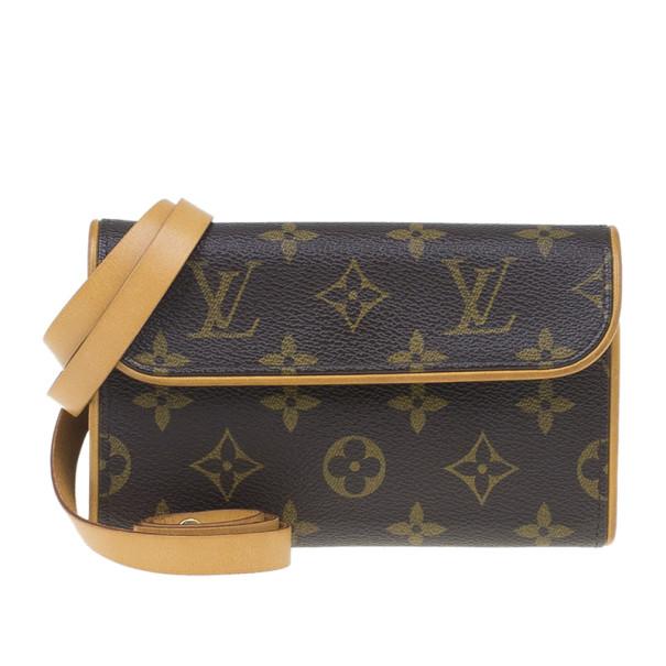 45a8e332fab9 ... Louis Vuitton Brown Monogram Canvas Florentine Convertible Vintage Belt  Bag. nextprev. prevnext