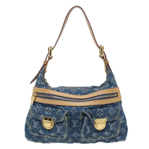 Buy Louis Vuitton Denim Monogram Baggy PM 4697 at best price  143952673f436