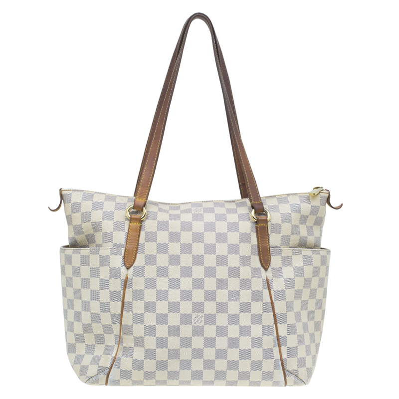 c75f175ffcc Louis Vuitton Damier Azur Canvas Totally MM Bag