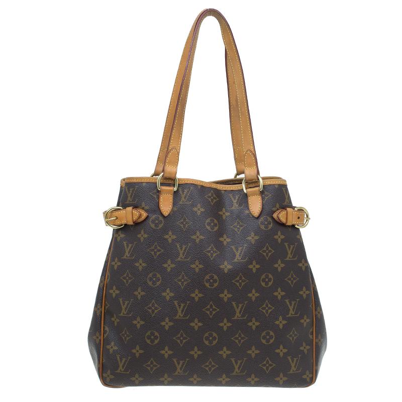 8d9562d67b4 Louis Vuitton Monogram Canvas Batignolles Vertical Bag