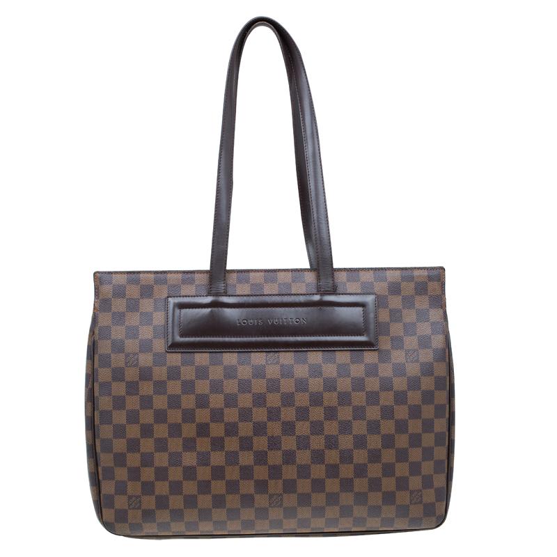 9854306da47d ... Louis Vuitton Damier Ebene Canvas Parioli GM Bag. nextprev. prevnext