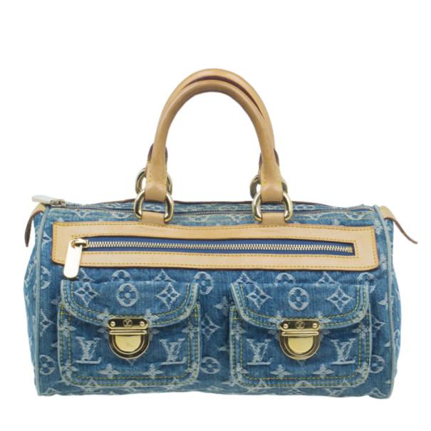Buy Louis Vuitton Monogram Denim Neo Speedy 30 5991 at best price  7edacbf499f36